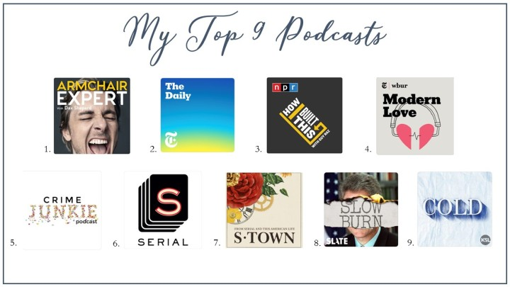 Top 9 Podcasts
