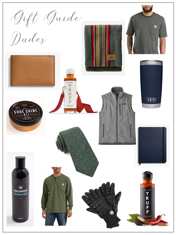 Gift Guide: Dudes